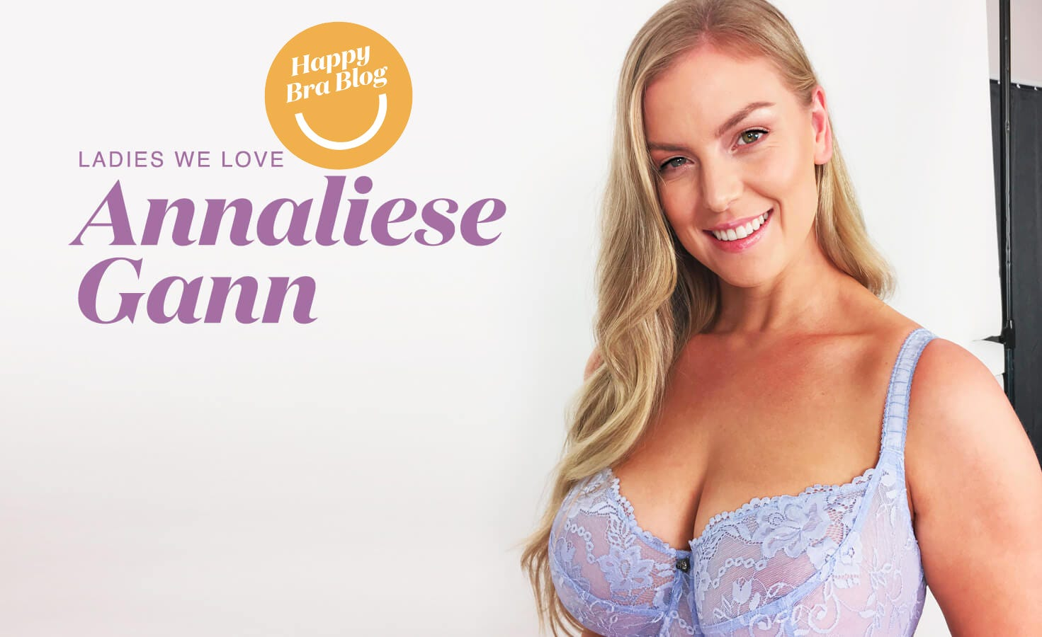 Ladies We Love - Annaliese Gann in Rose & Thorne NZ Lingerie.