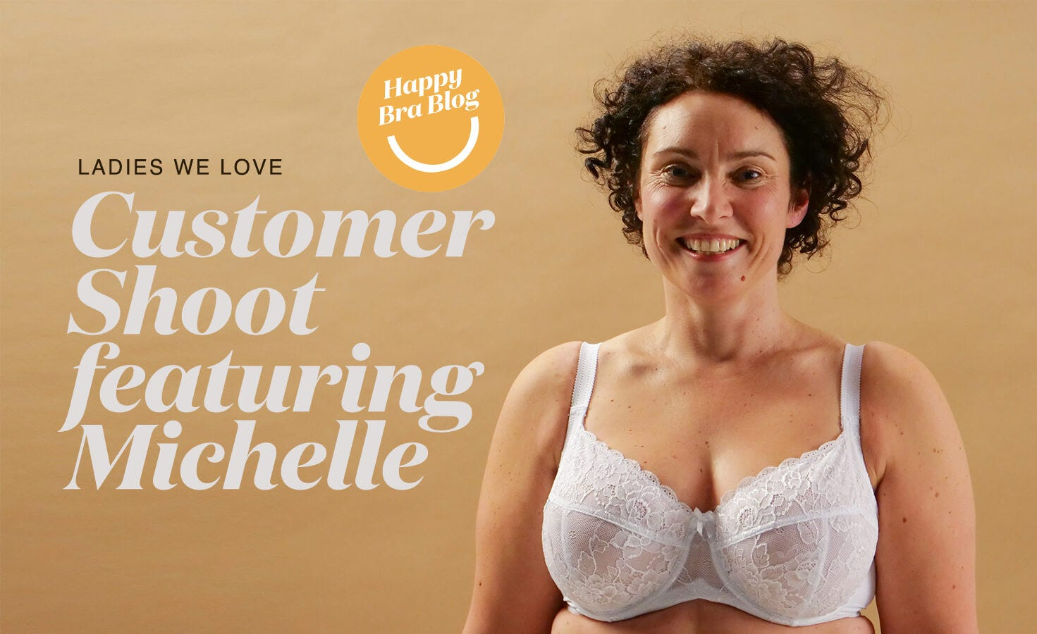 Woman Smiling in Comfortable Rose & Thorne Bra