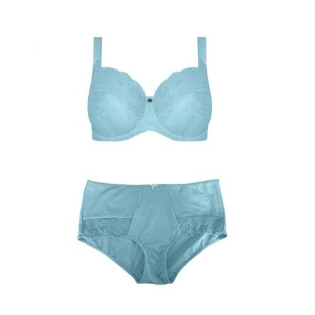 Set Enhanced Support Contrast Lace Rococo