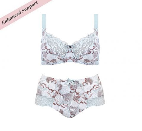 Enhanced Support Pastel Floral Set