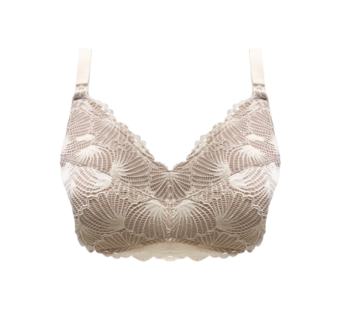 Leakproof Maternity Bra - Enhanced Support - Crystal