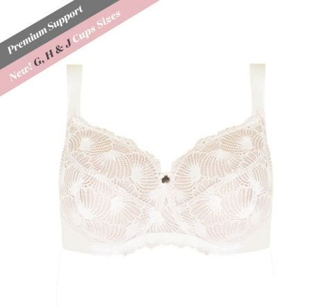 Premium Support Lace Bra Crystal